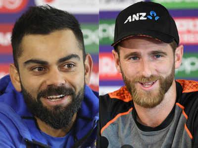 भारत और न्यू जीलैंड के बीच पहला सेमीफाइनल