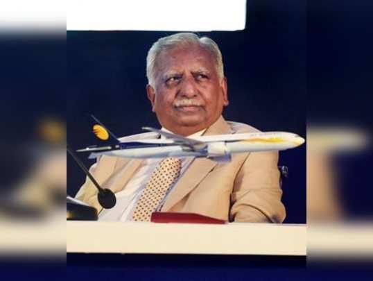 **FILE** Mumbai: In this file photo dated Nov 29, 2017, Naresh Goyal, Chairman o...