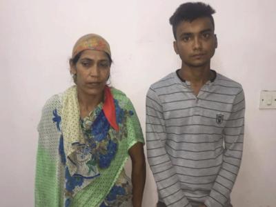 मर्डर के आरोपी मां और बेटे