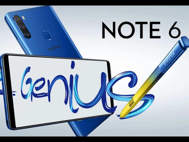 Infinix Note 6 का ऐलान, ट्रिपल रियर कैमरे और X पेन स्टाइलस के साथ होगा लॉन्च