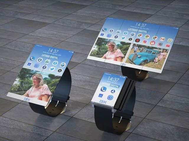 स्मार्टवॉच में 8 स्क्रीन, पलक झपकते बन जाएगा टैबलेट