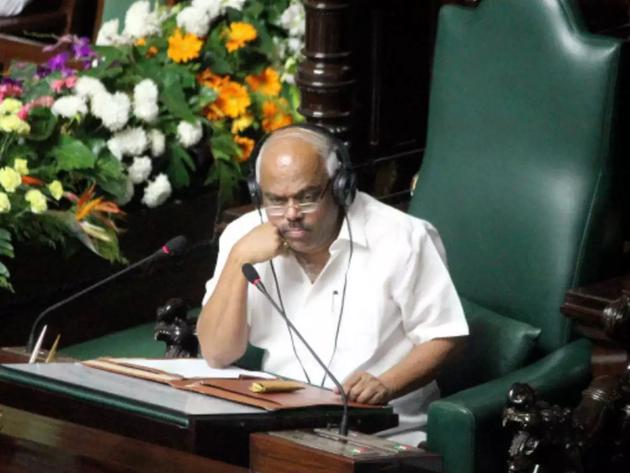 फाइल फोटो: विधानसभा अध्यक्ष केआर रमेश कुमार