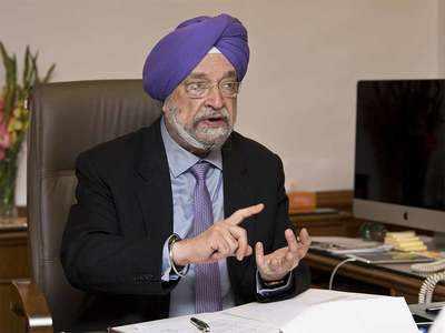 नागर विमानन मंत्री हरदीप सिंह पुरी। (फाइल फोटो)