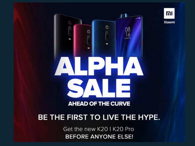 Xiaomi Redmi K20, K20 Pro खरीदने की गारंटी, आज बुक करें ऐल्फा सेल पास