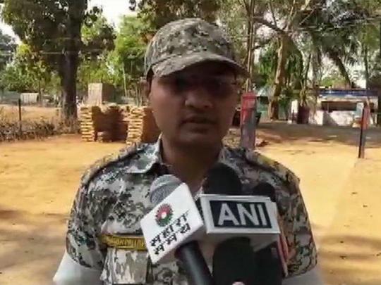 Dantewada district Superintendent of Police Abhishek Pallava