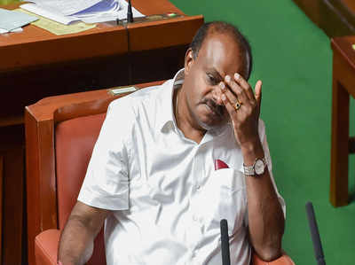 कर्नाटक संकट: कुमारस्वामी ने कहा, उनकी सरकार विश्वासमत के लिए तैयार