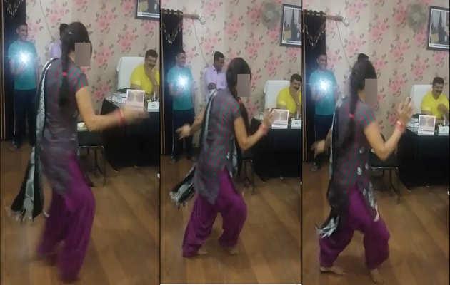 उत्तराखंड MLA कुंवर प्रणव सिंह चैंपियन का एक और विडियो वायरल, ऑफिस में महिला का डांस देखते हुए आए नजर