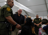vp pence visits overcrowded migrant camp deplores crisis