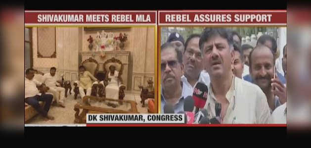 बागी कांग्रेस विधायक नागराज ने इस्तीफे पर विचार करने का दिया संकेत