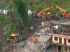 many people stranded in debris of a building after it collapsed in himachal pradesh