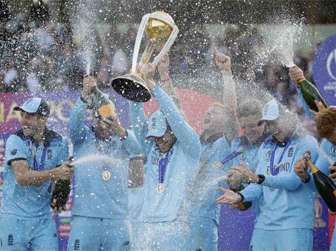 ICC WORLD CUP 2019 : विश्वविजेच्या इंग्लंडनं असा साजरा केला विजय