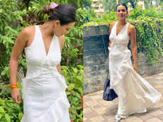 tv actress nia sharma trolled for flashing tummy in white dress called pregnant lady