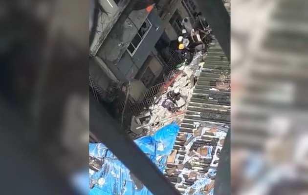 मुंबई: डोंगरी इलाके में ढही बहुमंजिला इमारत, 40 के फंसे होने की आशंका