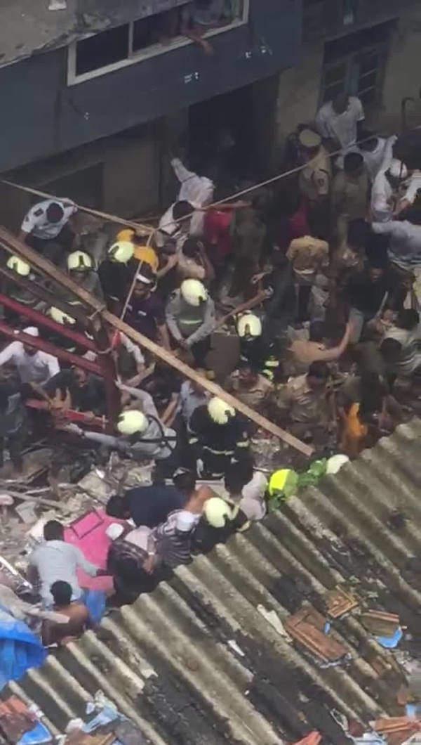 mumbai building collapses