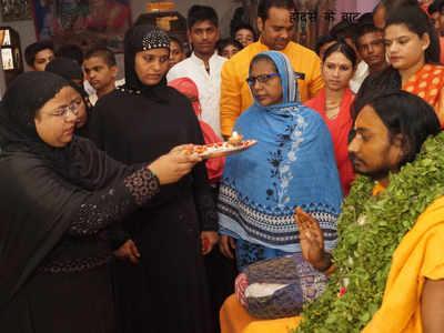 पातालपुरी मंदिर में हुआ विशेष पूजन