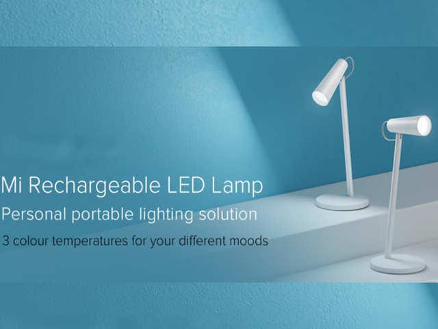 Xiaomi Mi Rechargeable LED Lamp भारत में लॉन्च, फुल चार्ज पर 5 दिन चलने का दावा
