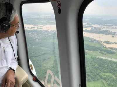 1,25,000 लोगों को बाढ़-प्रभावित इलाकों से निकाला गया: नीतीश कुमार