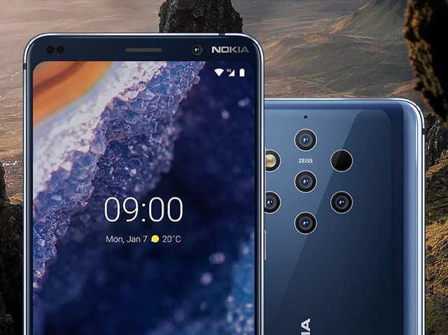 आज से ऑफलाइन स्टोर्स पर भी मिलेगा 5 रियर कैमरे वाला Nokia 9 PureView