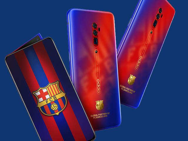 Oppo Reno 10X जूम का FC Barcelona एडिशन लॉन्च, जानें कीमत और खूबियां