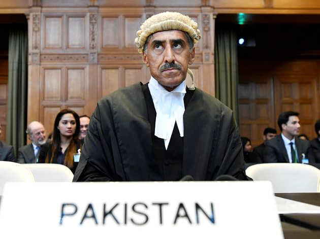 ICJ में पाकिस्तान की तरफ से पेश वकील