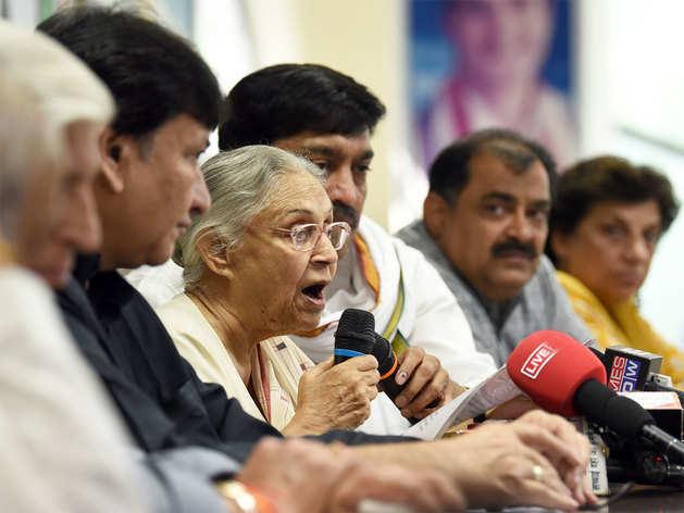 दिल्ली कांग्रेस में गुटबाजी चरम पर