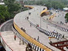 rani jhansi delhis first flyover at which 1 6 km till greenery