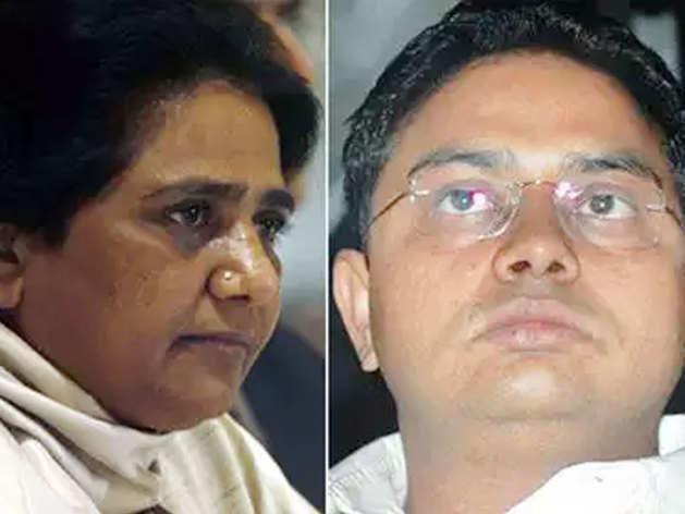 मायावती और आनंद कुमार (फाइल फोटो)