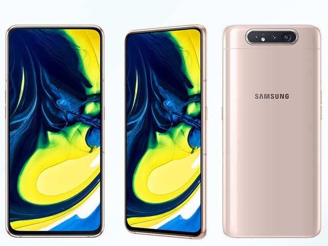 48MP रोटेटिंग ट्रिपल कैमरे वाला दुनिया का पहला फोन Samsung Galaxy A80 लॉन्च, जानें कीमत