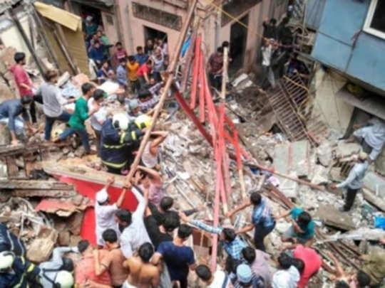 डोंगरी इमारत दुर्घटना: बी वॉर्डचे प्रभारी साहाय्यक आयुक्त निलंबित