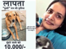 pragya mishra searching for stray dog kuki put her job on stake