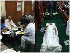 hd kumaraswamy will prove majority by 1 30pm today says governor vajubhai vala