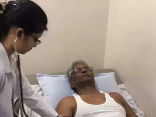 अस्पताल में भर्ती कर्नाटक के विधायक