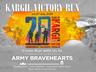 kargil victory run is being organised newdelhi at vijay chowk on 21 july