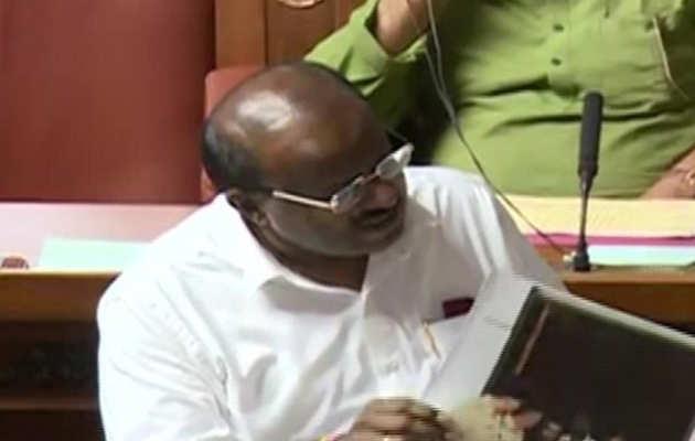 कर्नाटक संकट: मुख्यमंत्री कुमारस्वामी 22 जुलाई को चाहते हैं फ्लोर टेस्ट