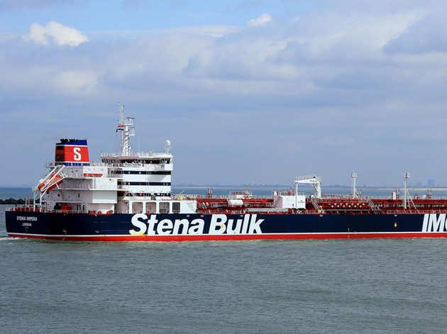 ब्रिटिश तेल टैंकर (फाइल)