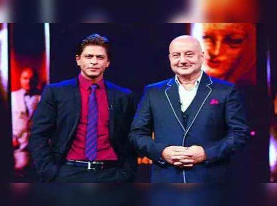 चित्रपटांतून ब्रेक! शाहरुखच्या निर्णयाला अनुपम खेर यांचा पाठिंबा