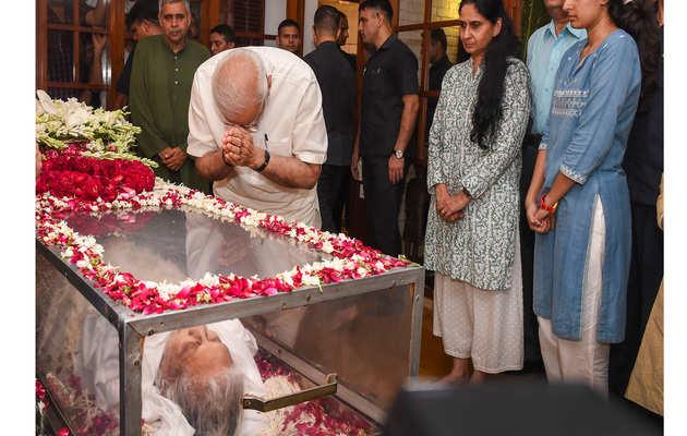 PM नरेंद्र मोदी ने शीला दीक्षित को श्रद्धांजलि दी