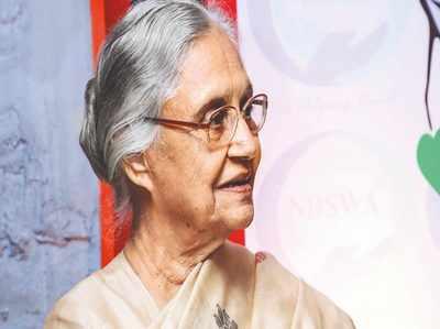 दिल्ली: नेताओं, समर्थकों ने दी शीला दीक्षित को श्रद्धांजलि