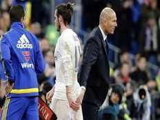 striker gareth bale will leave real madrid soon says coach zinedine zidane