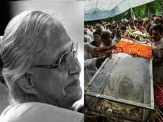 former delhi chief minister sheila dikshit cremated with full state honours at the nigambodh ghat