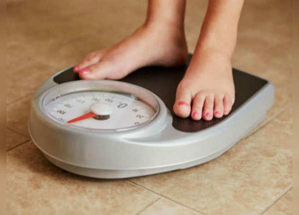 वजन कम होना