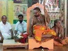 athi varadar idol do not bury inside the temple pond again sadagopa ramanuja jeeyar