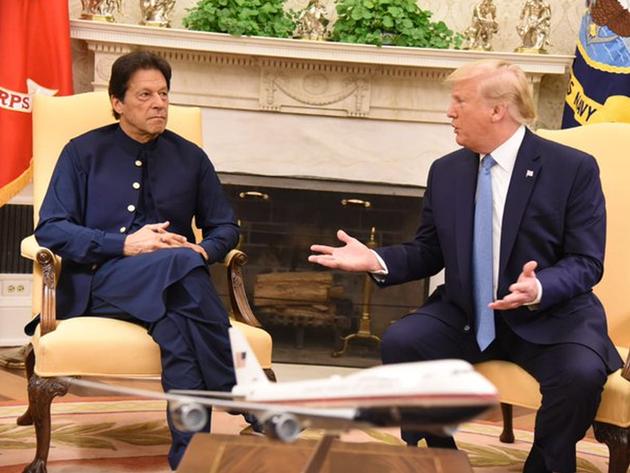 इमरान खान ने डॉनल्ड ट्रंप से की मुलाकात