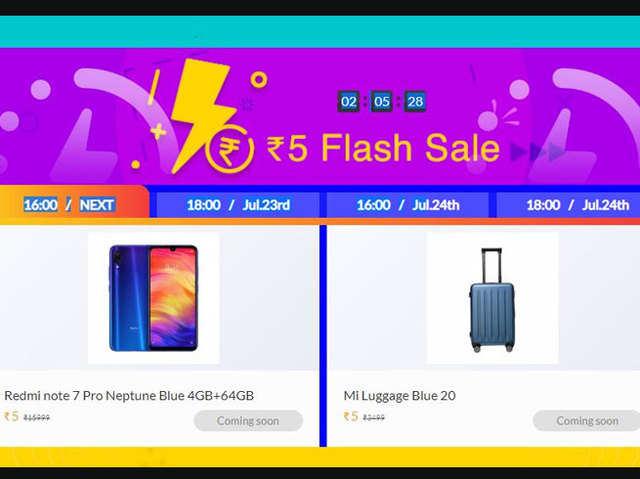 Xiaomi की सेल, सिर्फ 5 रुपये में खरीदें TV और मोबाइल