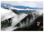 हिमाचल प्रदेश के किन्नौर में भारी बारिश के बाद भूस्खलन