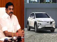 tamil nadu cm edappadi palaniswami launches new hyundai electric kona suv car in chennai tomorrow
