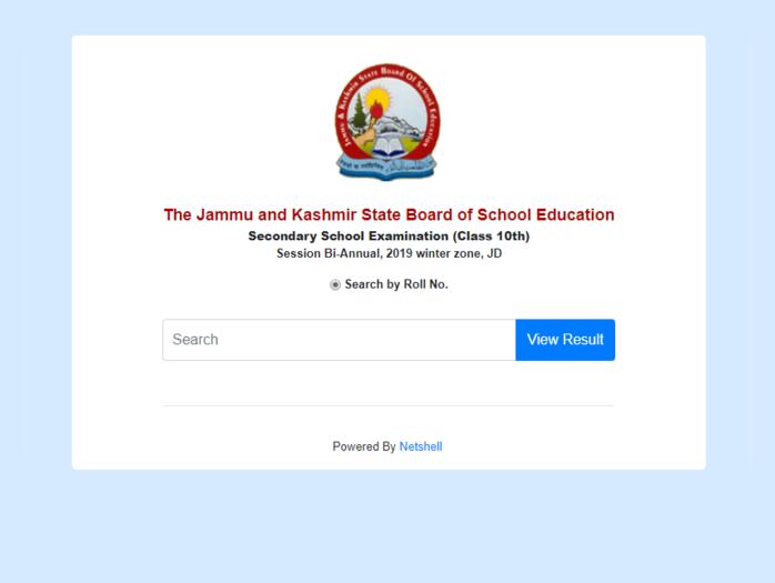 jkbose jammu division 10th class result 2019