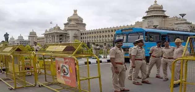 कर्नाटक: बीएस येदियुरप्पा 29 को साबित करेंगे बहुमत, विधानसभा के पास सुरक्षा बढ़ी