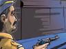 यूपी: बागपत में पुलिस के साथ मुठभेड़ में इनामी बदमाश ढेर