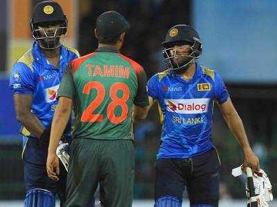 श्रीलंका ने बांग्लादेश को 7 विकेट से हराया।